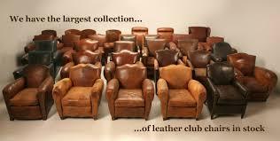 vintage leather club chairs. Sample Slide Vintage Leather Club Chairs A