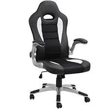 black desk chair. Barton Executive Computer Desk Chair, Racing Car Gaming Chair (black) Black B
