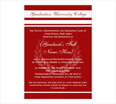 Formal Graduation Announcements 29 Examples Of Graduation Invitation Designs Psd Ai Word Examples