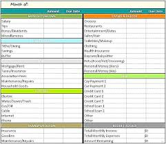 Best Budget Templates Budget Template Excel Capture Budget Template Excel Monthly