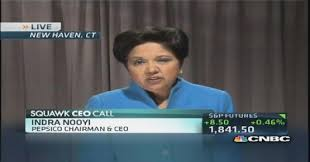 pepsico ceo indra nooyi to critics no snack soft drink split pepsico s performance purpose strategy