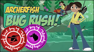 wildkratts wildkrattsarcherfishbugrush
