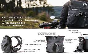 velomacchi roll top waterproof backpack