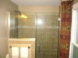 half glass shower door glass shower half wall shower glass door half wall glass tile bathroom half glass shower door