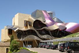 famous modern architecture. Frank Gehry_Wine Complex Famous Modern Architecture O