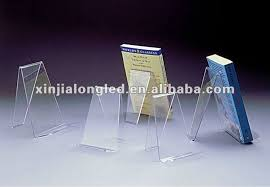 Acrylic Book Display Stands Mesmerizing 32 Budget Desktop Single Sided Acrylic Book Display Stand Book