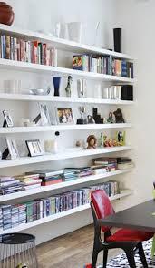 Big White Floating Shelves