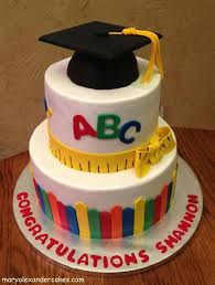 8 Preschool Graduation Theme Cakes Photo Kindergarten Graduation