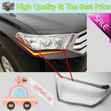 For Toyota Highlander 2012 2013 2014 car front light lamp detector ...