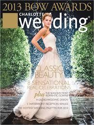 Charlotte Wedding Magazine Cover Bride Charlotte Wedding