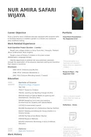 Relief Teacher Resume Samples - Visualcv Resume Samples Database