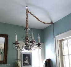 how to install aladdin chandelier lift how to hang a chandelier with a plug how to