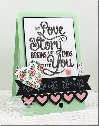 diy valentines day cards my love story card easy handmade cards for him and