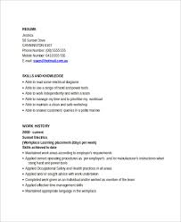 Electrician Resume Mesmerizing 60 Electrician Resume Templates Sample Templates