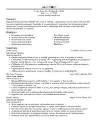 Classic Resume Example Stunning Best Sales Team Member Resume Example LiveCareer