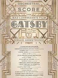 Digital Booklet - Gatsby Score   Music Organizations   Music Industry