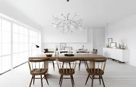 Scandinavian Design Living Room Atdesign Wooden Dining In Monochrome Nordic Living Minimalist
