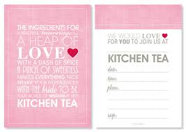 Kitchen Tea Party Invitation Invitation Wording Valentine Party Invitation Ideas