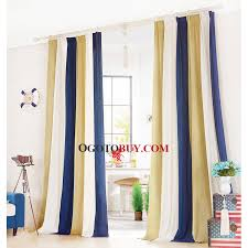 magnificent gold thermal curtains inspiration with simple striped pattern gold and navy blue chenille thick thermal