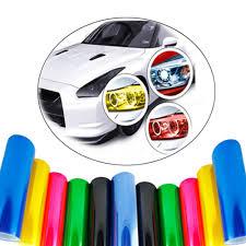 Car Light Film Hot Item Wholesale Headlight Tint Film Car Light Film Car Lamp Tint Film Car Stickers