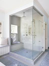 Generally, building a walk-in shower requires gutting walls to access  plumbing pipes, applying waterproof poly sheeting to the walls and floor,  ...