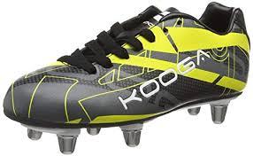Amazon Com Kooga 2016 Evade Rugby Boots Junior Black