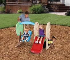 outdoor toys structures kids swing