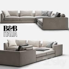 Bb italy furniture Lounge Bb Italia Richard Pinterest 3d Models Sofa Bb Italia Richard