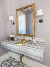 sinks small bathroom sink ideas tiny pedestal sink gold hammered sink powder room gray striped