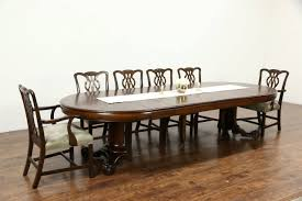 item 26782 a classic round oak dining table
