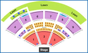 Coastal Music Park Seating Chart Concord Pavilion Seating Charts Matter Of Fact Concord