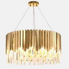 modern crystal pendant lights living room luxury foyer hanging gold lighting tableware led crystal pendant lights pendants hanging lights from dard