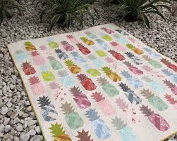 Pineapple Quilt Pattern Amazing Patterns By Elizabeth Hartman PINEAPPLE FARM Pdf Quilt And Pillow