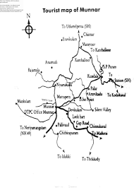 route map kollam to munnar