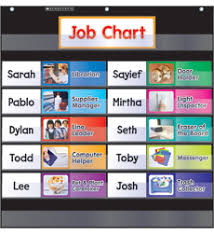 Pocket Chart Class Jobs Black By