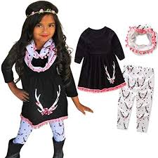 infant toddler baby s fall winter clothes outfit 1 5 years old 3pcs cute