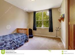 Single Bed Bedroom Small Bedroom With Single Bed Stock Photo Image 42763807