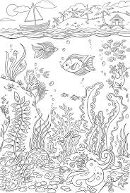 The Reef Coloring Wall Decal By