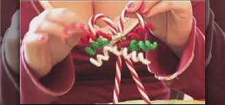 Christmas Decorations With Candy Canes How to Make candy cane Christmas tree ornaments Christmas Ideas 52