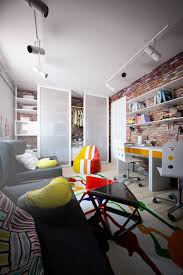 Home Designs: Reading Nook Design - Exposed Brick Design