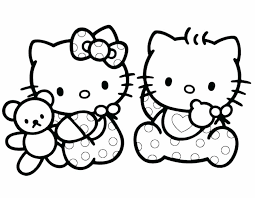 Christmas Hello Kitty Coloring Pages Hello Kitty Coloring Pages