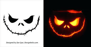 Scary Pumpkin Carving Patterns Cool Scary Pumpkin Carving Ideas Patterns Free Printable Stencil Stencils
