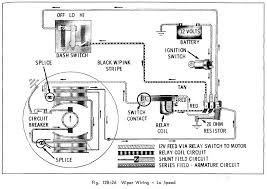 car wiring diagram page  wiper wiring of 1966 oldsmobile 33 through 86 series low speed1