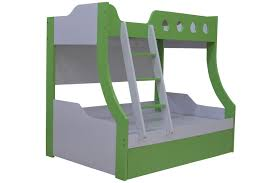 kids bed side view. BUNK BED MODEL A008 Kids Bed Side View