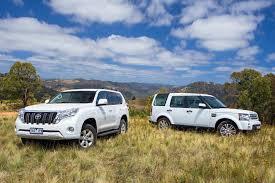 2014 Toyota Prado GXL vs 2014 Land Rover Discovery TDV6   4X4 ...