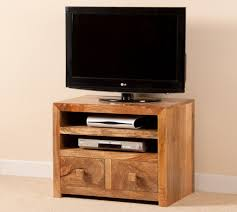 Dakota Light Mango Small TV Unit 1