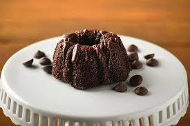 Chocolate Mini Bundt Cake 6 Count A Little Slice Of Heaven Bakery