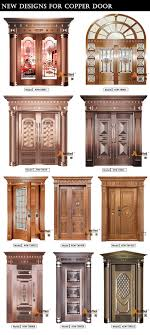 old wood entry doors for sale. modern house front door design double tempered glass pure copper villa entry exterior - buy door,exterior product on old wood doors for sale
