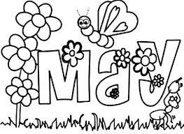 Small Picture May Coloring Pages exprimartdesigncom