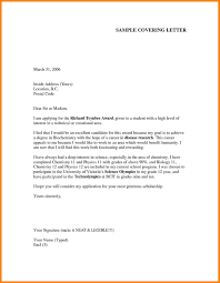 Cover Letter Application Formal Cover Letter Report Template Word